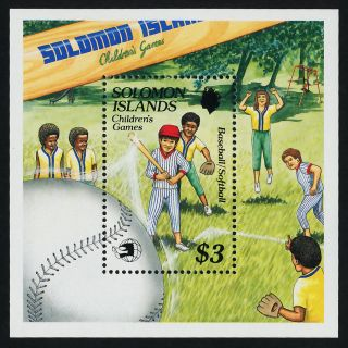 Solomon Islands 652 Sports,  Baseball,  Softball photo