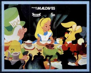 Maldives 896 Disney,  Alice In Wonderland photo