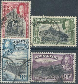 Ceylon.  1935/36. .  (2774) photo