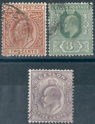 Ceylon.  1903/05. .  (2767) photo