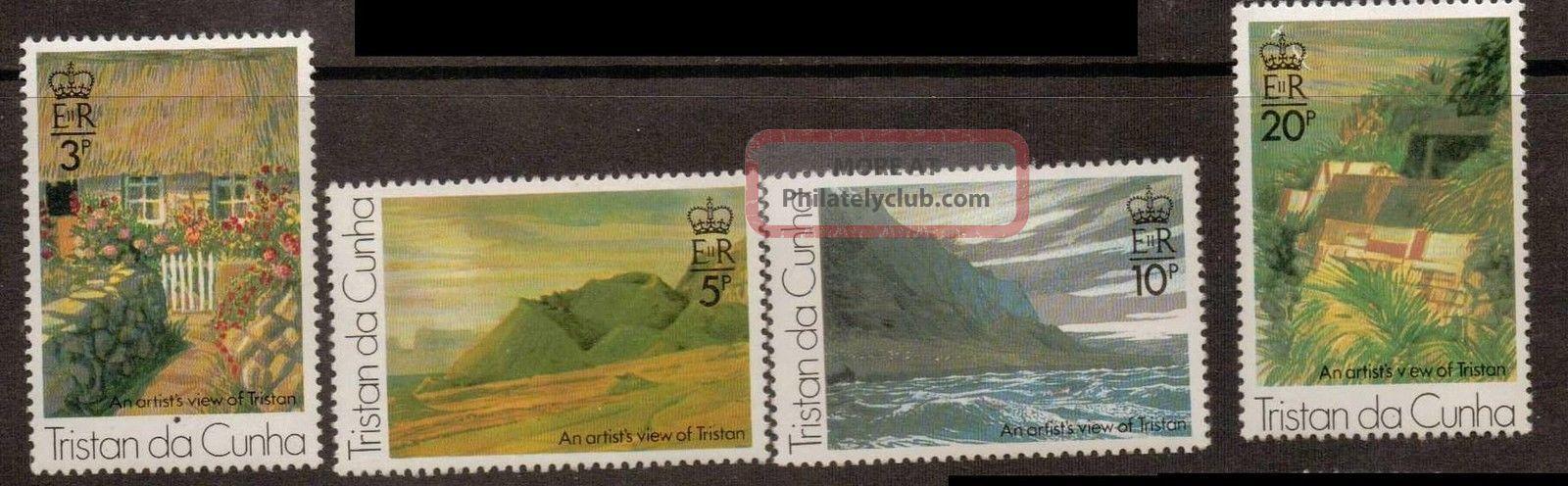 Tristan Da Cunha Sg207/10 1976 Paintings British Colonies & Territories photo