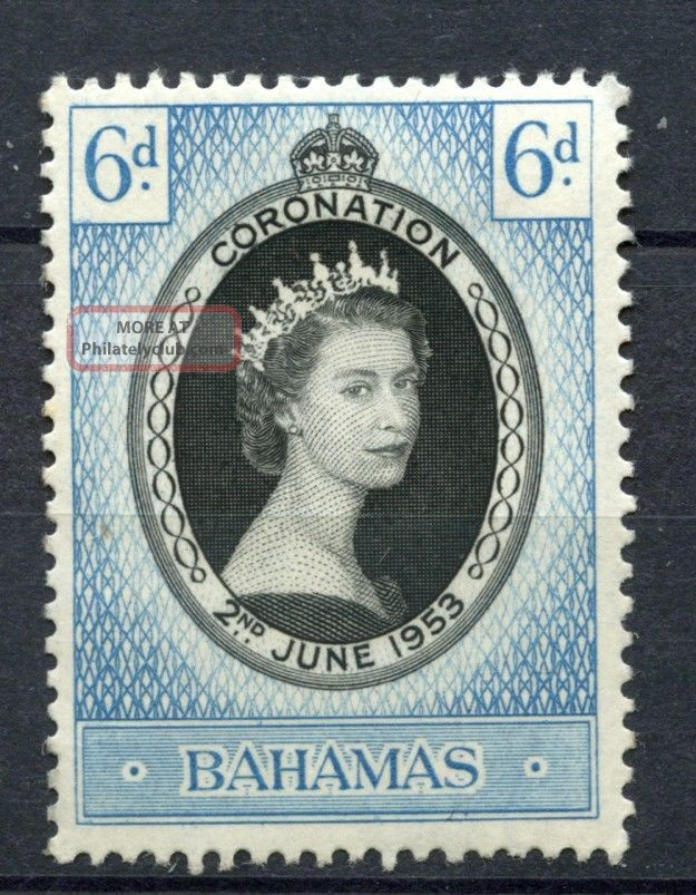 Bahamas 1953 Sg 200 Coronation Mh A36122 British Colonies & Territories photo