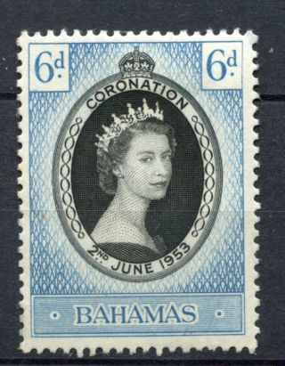 Bahamas 1953 Sg 200 Coronation Mh A36122 photo