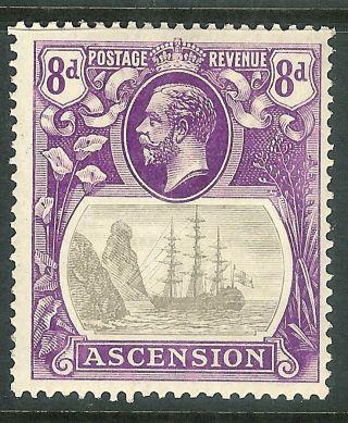Ascension 1924 Grey - Black/bright - Violet 8d Sg17 photo