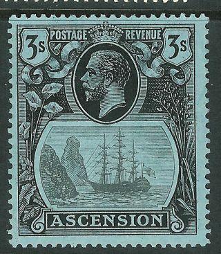 Ascension 1924 Grey - Black/black On Blue 3/ - Sg20 photo