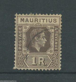 Mauritius - 1949 - Sg260c - Cv £ 18.  00 - photo
