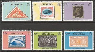 Anguilla Sg358/63 1979 Rowland Hill photo