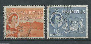 Mauritius - 1954 - Sg304 & Sg306 - Cv £ 11.  00 - photo