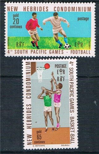 Hebrides 1971 4th S.  P.  Games Sg 149 - 50 photo