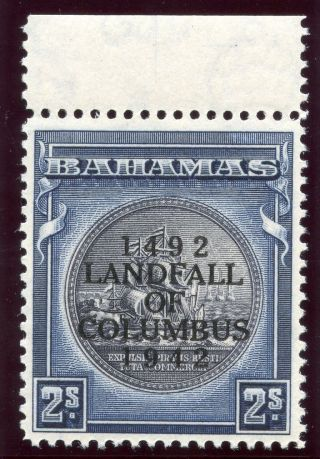 Bahamas 1942 Kgvi 2s Slate - Purple & Indigo.  Sg 172.  Sc 126a. photo