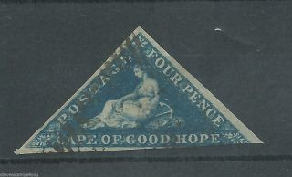 Cape Of Good Hope - 1853 - Sg2 - Cv £ 180.  00 - photo