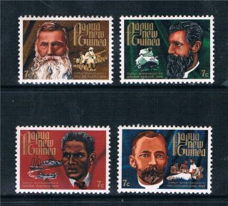 Papua Guinea 1972 Christmas (missionaries) Sg 227/30 photo