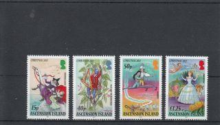 Ascension Island 2011 Christmas Pantomimes Sg 1117 - 20 Cinderella Aladdin photo