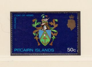 Pitcairn Islands Scott 129 Nh Pitcairn Coat Of Arms photo