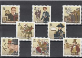 Tristan Da Cunha 2010 History British Isles Pt2 Sg 980 - 7 Churchill Agincourt photo