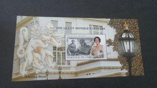 Norfolk Island 1999 Queen Mother ' S Century Minisheet. photo