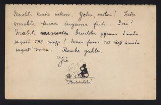 Rhodesia 1899 Stationery. .  Sindebeli The Skoff Illustr. photo