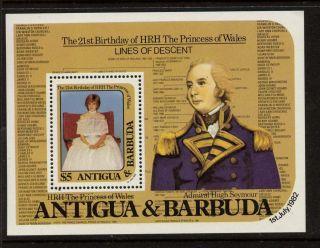 Antigua 666 Princess Diana 21st Birthday,  Admiral Seymour photo