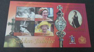 Norfolk Island 2002 Ms 792 Golden Jubilee photo