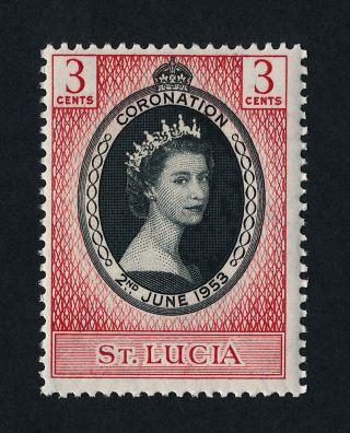St Lucia 156 Queen Elizabeth Ii Coronation photo