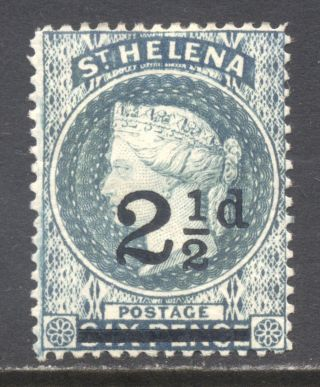 St.  Helena 1893,  Queen Victoria; Single,  Sc 47,  Hinged photo