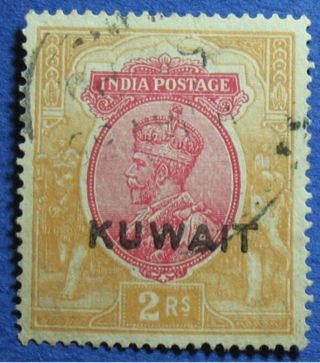 1929 Kuwait 2r Scott 32 S.  G.  26w Cs02533 photo
