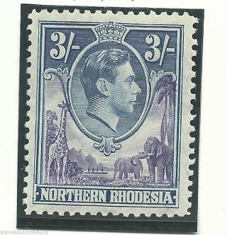 Northern Rhodesia - 1938 To 1952 - Sg42 - Cv £ 22.  00 - Mounted photo