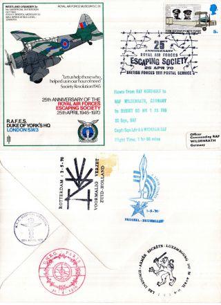 1970 25th Anniversary Of Rafes Sc28 Commemorative Cover photo
