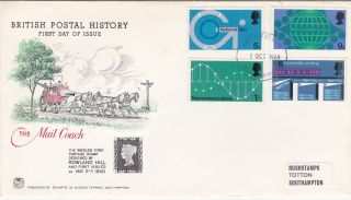 1969 Post Office Technology.  Fdc photo