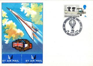 26 September 1970 100th Anniversary First Airmail Service Commemorative Cover photo
