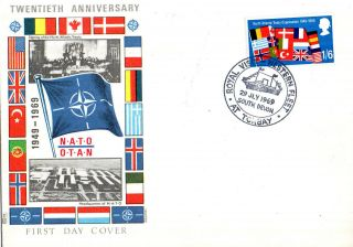 1969 Royal Visit To The Western Fleet At Torbay Commemorative Cover photo