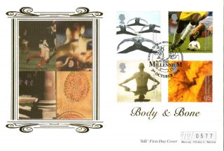 2 October 2000 Body And Bone Mercury Le First Day Cover Shs photo