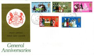 1 April 1970 General Anniversaries Post Office First Day Cover Rothley Cds photo