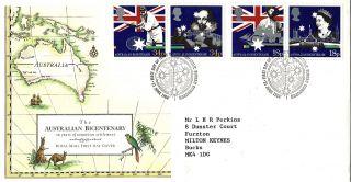 21 June 1988 Australian Bicentenary Royal Mail First Day Cover Bureau Shs photo