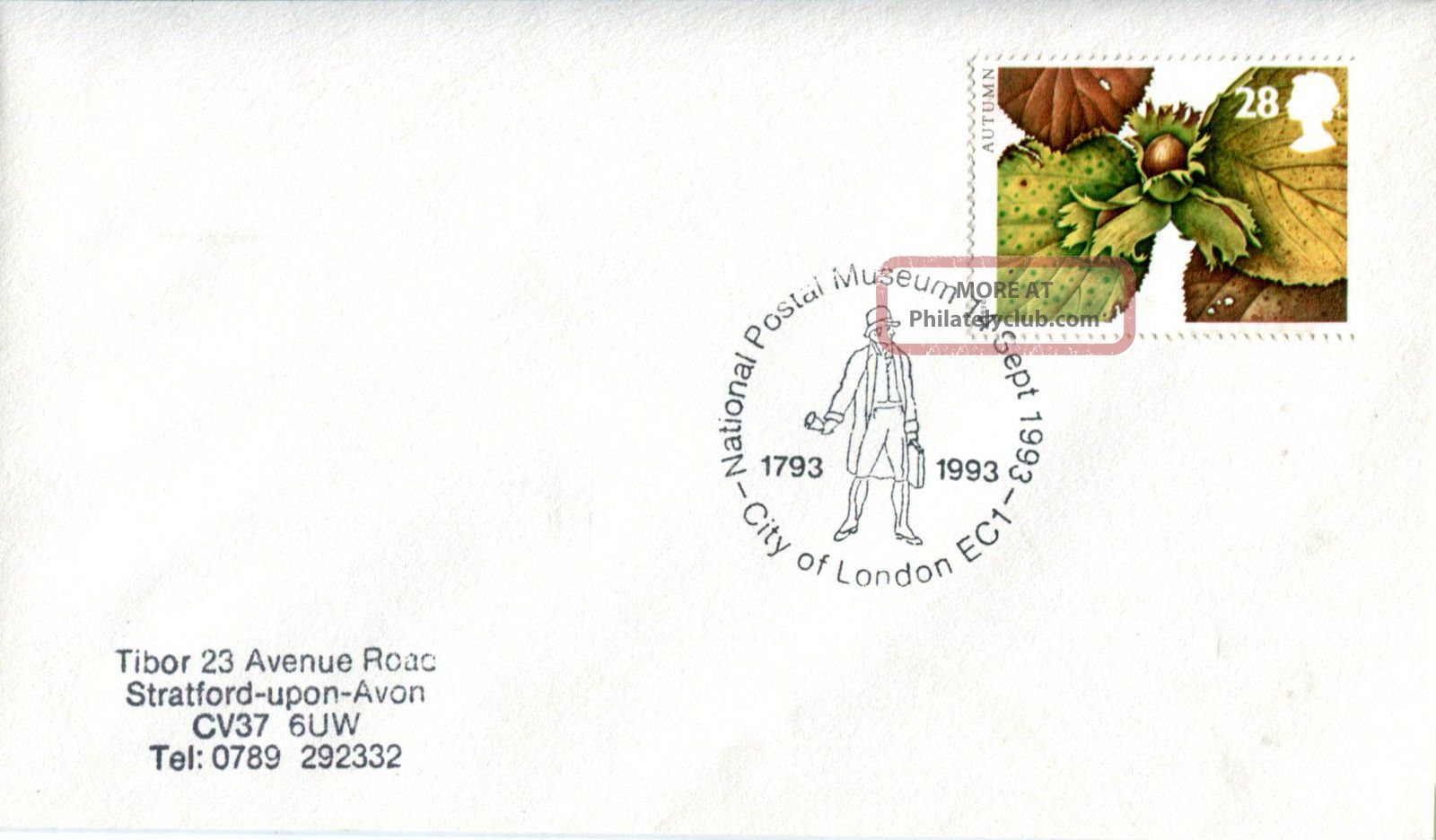 14 September 1993 Autumn First Day Cover National Postal Museum Shs Topical Stamps photo