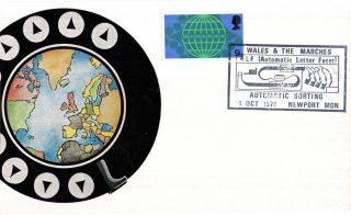 14 October 1970 Post Office Technology Cameo Commemorative Card Newport Shs (a) photo