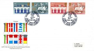 15 May 1984 Europa Royal Mail First Day Cover Europe House London E1 Shs photo