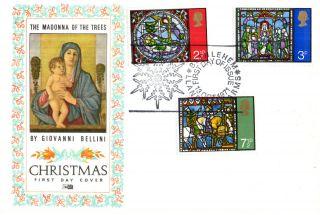 13 October 1971 Christmas Philart First Day Cover Bethlehem Shs photo