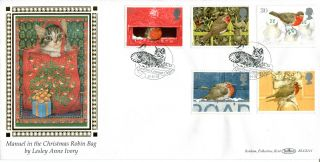 30 October 1995 Christmas Benham Blcs 111 First Day Cover Christmas Common Shs photo