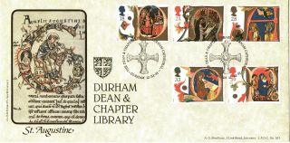12 November 1991 Christmas Bradbury Lfdc 101 First Day Cover Durham Shs photo