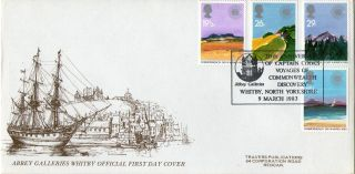 9 March 1983 Commonwealth Day Travers Le First Day Cover Captain Cook Shs photo