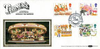 5 October 1983 British Fairs Benham Bocs (2) 21 First Day Cover Shs photo