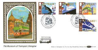 10 May 1988 Transport & Communication Benham Blcs 32b Fdc Transport Glasgow Shs photo