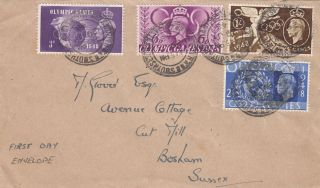 (21874) Gb Fdc Olympic Games - Southsea Cds 29 July 1948 photo