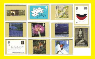 2004 All Commemorative Phq Cards Issued Throughout The Year Seperately photo