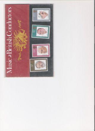 1980 Royal Mail Presentation Pack British Conductors photo