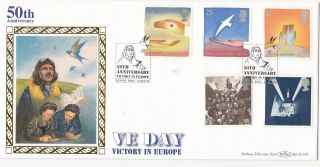 (31302) Gb Benham Fdc Ve Victory In Europe Peace And Freedom - Dover 2 May 1995 photo