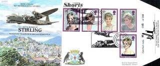 (11585) Fdc - Princess Diana Limited Edition Of 200 Shorts Stirling photo