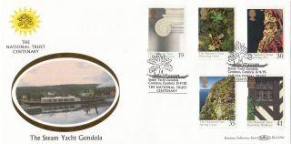 (31323) Gb Benham Fdc National Trust Gondala - Coniston 11 April 1995 photo