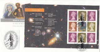 (18673) Fdc Gb World Changers Full Booklet Pane - Detling 1999 21 September photo